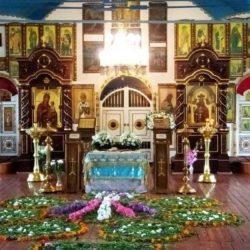 Чин Погребения Божией Матери в Церкви Рождества Пресвятой Богородицы пгт. Нижнеивкино