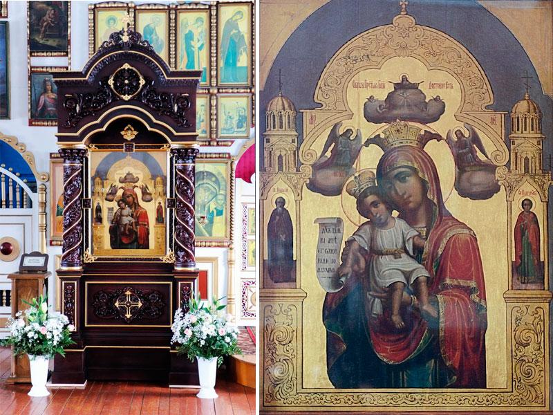 иконы Божией Матери «Достойно есть»