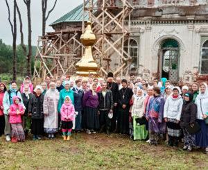 Крестный ход в село Раменье